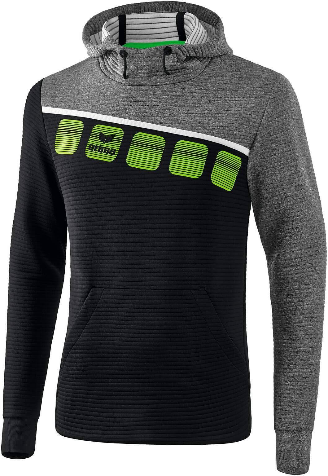 ERIMA 5-C męska bluza z kapturem