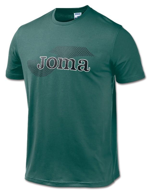 męska koszulka JOMA COMBI LOGO zielona